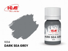 C1034 Темно-серая морская(Dark Sea Grey)