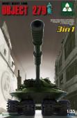 2001 Soviet Heavy Tank Object 279 (3 in 1)