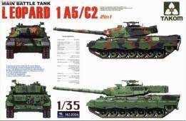 2004 Main Battle Tank Leopard  1 A5/C2 2 in 1