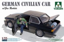 2005 German Civilian Car with Gas Rockets