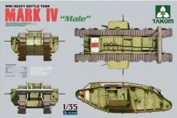 2008 WWI Heavy Battle Tank Mark IV Male