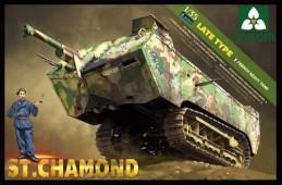 2012 French Heavy Tank St.Chamond