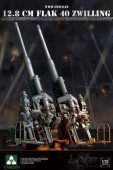 2023  WWII German 12.8 cm FlaK 40 Zwilling