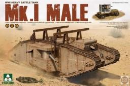 2031 WWI Heavy Battle Tank Mk.I Male 2 in 1
