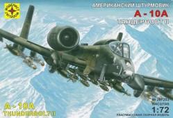 """207203 Американский штурмовик A-10А """"Тандерболт"""" II"""