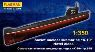 """235001 Советская АПЛ """"K-19"""""""