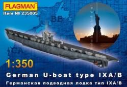 235005 Германская подлодка типа IX A/B