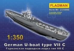 235006 Германская подлодка типа VII C