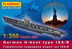 235305 Германская подлодка типа IX A/B