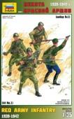 3501 Пехота красной армии (набор № 1)