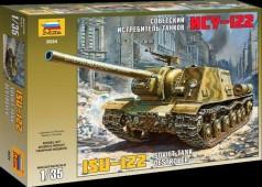 3534 Советский истребитель танков ИСУ-122