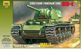 3539 Советский тяжелый танк КВ-1