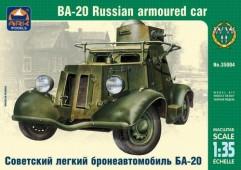 ARK35004 Советский легкий бронеавтомобиль БА-20