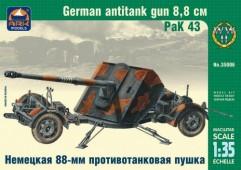 ARK35006 Немецкая 88-мм противотанковая пушка РаК 43