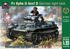 ARK35016 Немецкий легкий танк Т II D