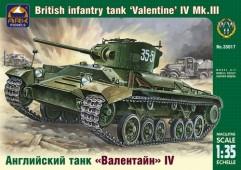 ARK35017 Английский танк Валентайн IV