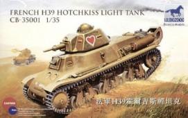 CB35001 French H39 Hotchikiss light tank