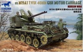 CB35148 US M19A1 Twin 40 MM Gun Motor Carriage
