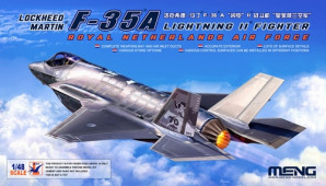 LS-011 1/48 Lockheed Martin F-35A Lightning II Fighter Royal Netherlands Air Force