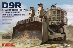 SS-010 D9R ARMORED BULLDOZER w/SLAT ARMOR