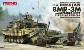 SS-011 Russian BMR-3M Armored Mine Clearing Vehicle plastic model kit