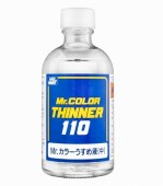 T-102  разбавитель для  красок т.м. MR.HOBBY 110мл