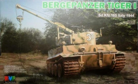 RM-5008 1/35 BERGEPANZER Tiger I Sd.Kfz.185 Italy 1944