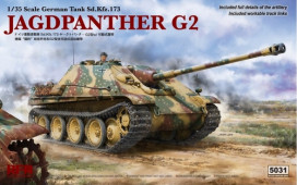 RM-5031 1/35  JAGDPANTHER G2  W/ WORKABLE TRACK LINKS